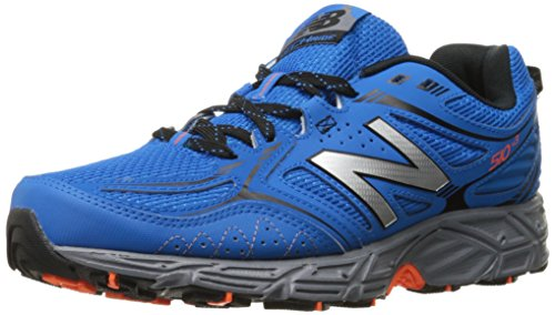 New Balance Men's 510v3 Trail Running Shoe, Sonar/Black, 10.5 D US