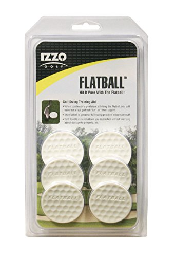 (IZZO Golf Flatball Swing Golf Training Aid)
