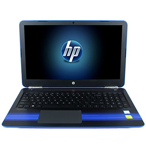 HP Pavilion 15.6-Inch Non-Touch Gaming Laptop Computer (Intel i7-7500U, 8GB RAM, 1TB HDD, NVIDIA Geforce 940MX 2GB Graphics, Full HD IPS, Windows 10, Blue)