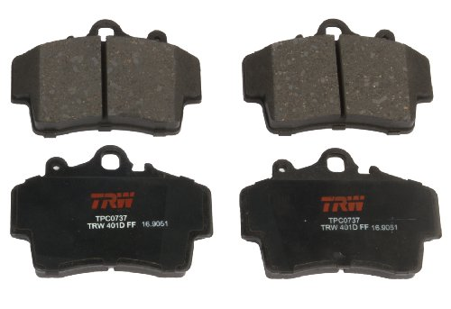 TRW TPC0737 Premium Front Disc Brake Pad ()