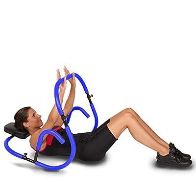 RitFit Ab Roller Evolution Abdominal Machine Exercise Crunch Roller Workout Exerciser