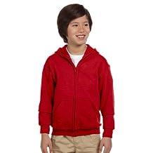 Gildan boys Heavy Blend Full-Zip Hooded Sweatshirt(G186B)