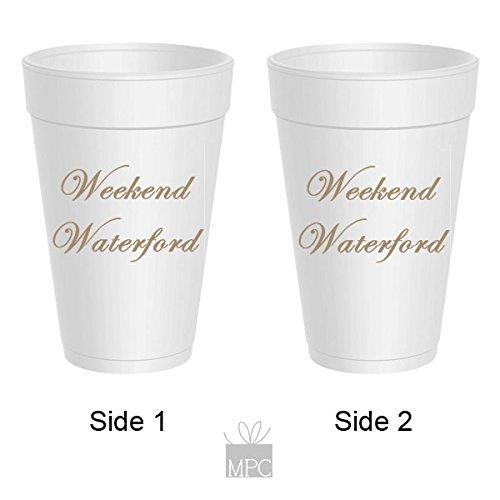 Styrofoam Party Cups - Weekend Waterford