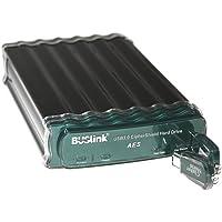 Buslink CipherShield Encryption External Drive - 4 TB - USB 3.0/eSATA-300, Black (CSE-4T-SU3)