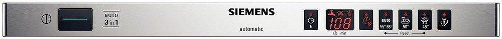 Siemens SF64T353EU lavavajilla Totalmente integrado 9 cubiertos A ...