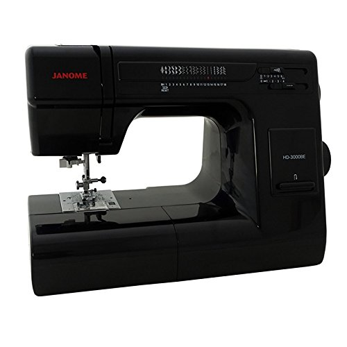 Janome HD3000BE Sewing Machine, Black