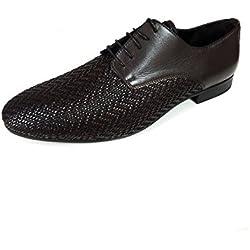 Zara Men Brown braided leather shoes 2037/202 (40 EU | 7 US | 6 UK)