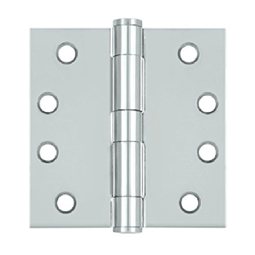 Deltana S44HD26 HD Value Choice for Indoor Applications Steel 4-Inch x 4-Inch Square Hinge by Deltana