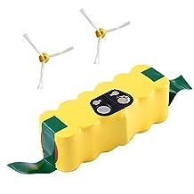 Topbatt 14.4v 4800mAh Replacement Battery for iRobot Roomba R3 500 600 700 800 900 Series