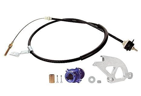 steeda ajustable Cable de embrague Kit para 1983 - 95 Ford Mustang: Amazon.es: Coche y moto