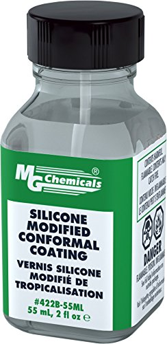 MG Chemicals 422B Silicone Modified Conformal Coating, 55 ml Bottle ()