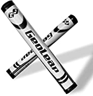 Geoleap Putter Grip- Soft Polyurethane Material,Round Shape, Light Weight Golf Grips,4 Colors and 4 Sizes to C
