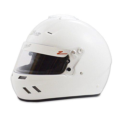 Zamp Racing Helmet - Zamp RZ-58 Snell SA2015 Helmet White Large
