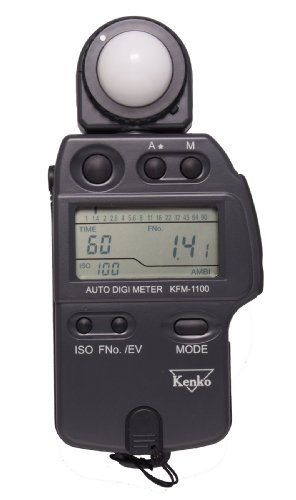 - Kenko KFM-1100 Auto Digi Meter - Light Meter for Flash and Ambient Light