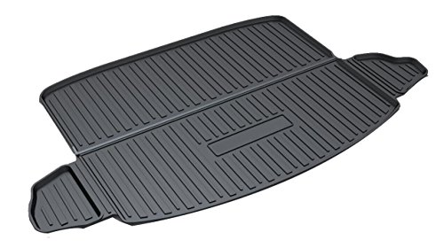 Kaungka Cargo LinerRear CargoTray TrunkFloorMat Waterproof Protector for 2017 2018HondaCRV (Not Fit with Subwoofer and 2018 CRV Touring) ()