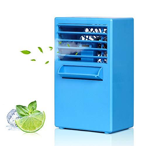LIANTRAL 3-in-1 Portable Air Conditioner Personal Space Cooler Humidifier Purifier, - Aerodynamic Cab