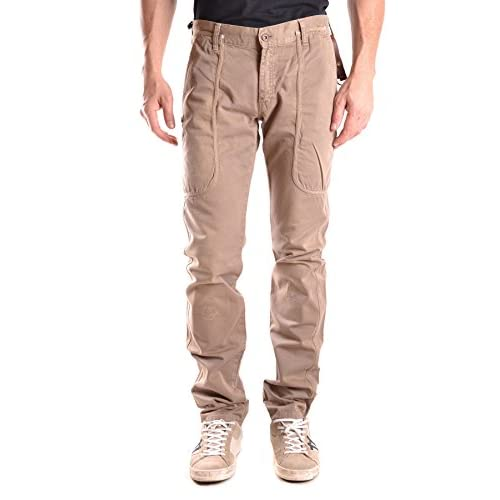 Pants for Men On Sale in Outlet, Beige, Cotton, 2017, 30 Daniele Alessandrini