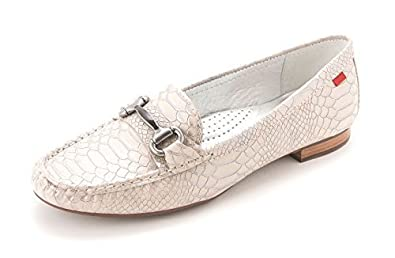 Marc Joseph New York Womens Grand St. Leather Loafers, Beige, Size 6.0