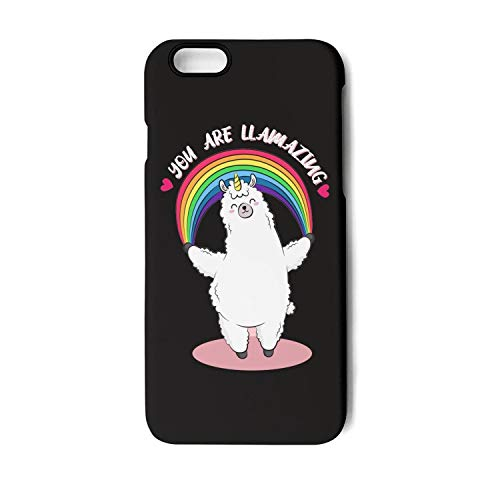 Fancy iPhone 6/6s Cell Phone case A Rainbow Llama iPhone 6s Accessories Best iPhone 6 case