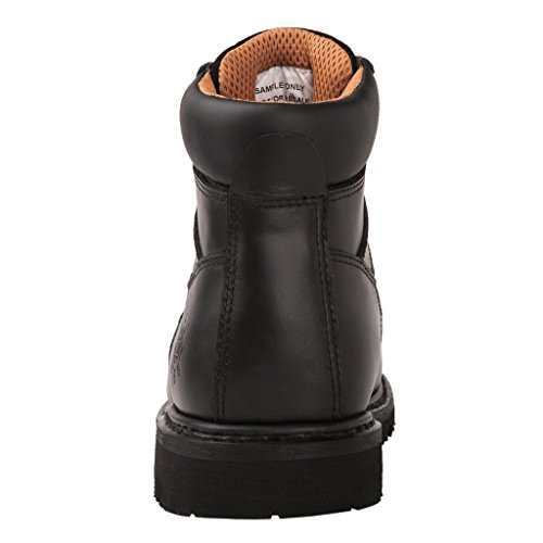GW 1606ST Steal Men's Black Work Toe Boots SrS5n