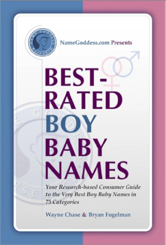 Very Best Name Baby Book (Best-Rated Boy Baby Names: Your Research-based Guide to the Very Best Boy Baby Names in 75 Categories (Best-Rated Names Book 1))
