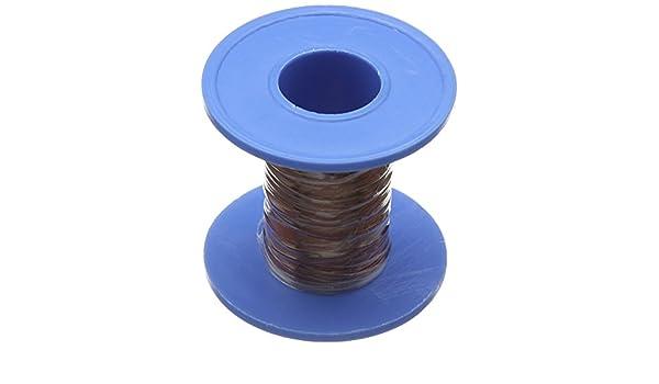 Sourcingmap - 0.41mm de cobre esmaltado de soldadura de soldadura de alambre bobinado longitud de la bobina 15m: Amazon.es: Industria, empresas y ciencia