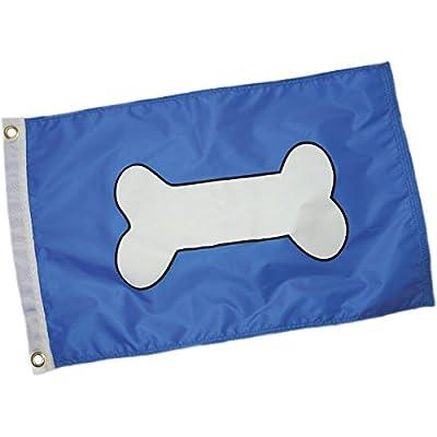 Paws Aboard 4200 Bone Flag