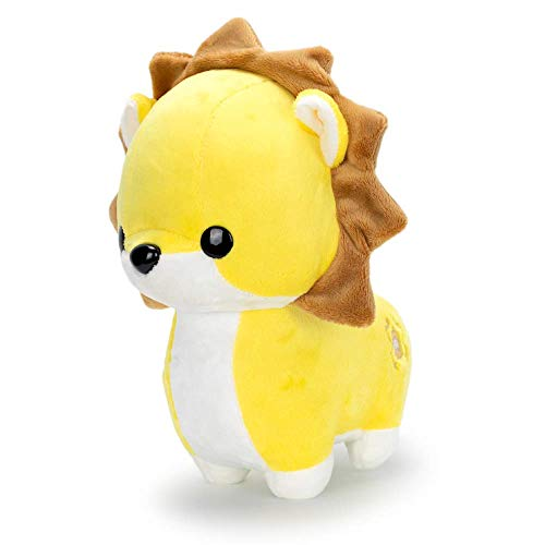 Bellzi Yellow Lion Cute Stuffed Animal Plush Toy - Adorable Soft Lion Toy Plushies and Gifts - Perfect Present for Kids, Babies, Toddlers - Pouncing Lioni