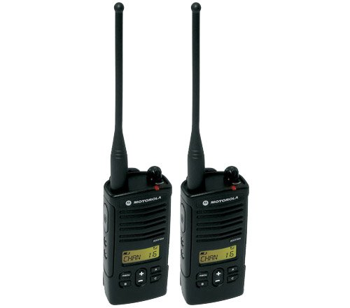 Motorola RDU4160D RDX Business 2-Way UHF Frequency Professional Two Way Radio (2-Pack)