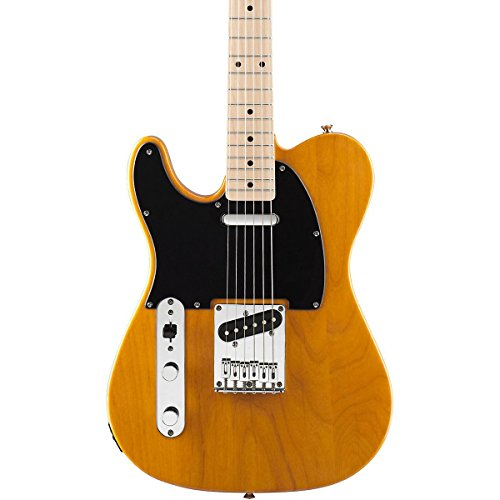 Squier Affinity Left-Handed Telecaster Special Electric Guitar Butterscotch Blonde (Fender Affinity Tele compare prices)