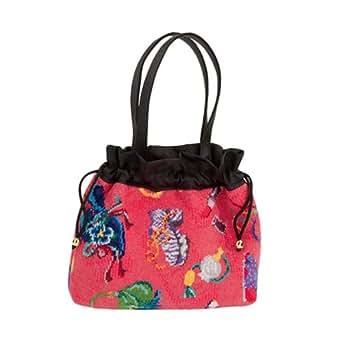 Feiler Locas Chenille Bucket Bag for Women - Multi Color