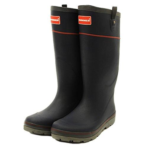 [해외]험 머 러 버 부츠 H2-01 남 빛 3L (28.0) / Hummer Rubber Boots H2-01 Indigo 3l (28.0)
