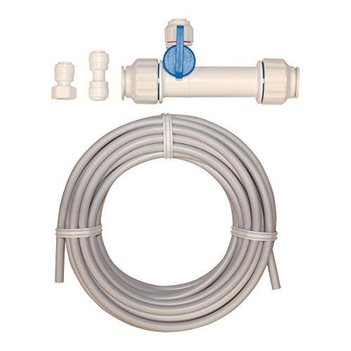Tubing White Pex (Eastman 60466N Pex Icemaker Kit Connector, White)