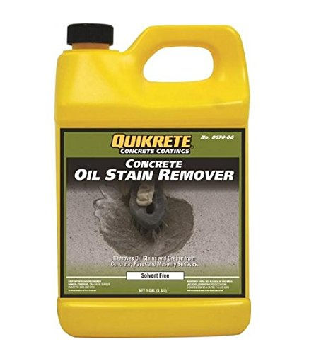 06 Oil Grease - Quikrete 8670-06 Concrete Oil Stains Removes