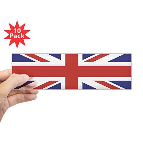 CafePress Union Jack UK British Flag Bumper Sticker 10