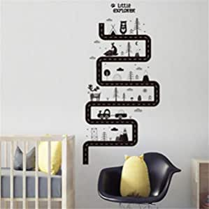 3D wallpaper for bedroom living room bathroom decoration draw self-adhesive PVC sticker Wall paper stickr