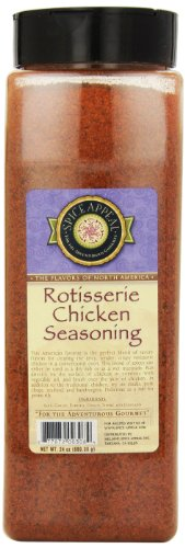 Spice Appeal Rotisserie Chicken Seasoning, 24-Ounce Jar