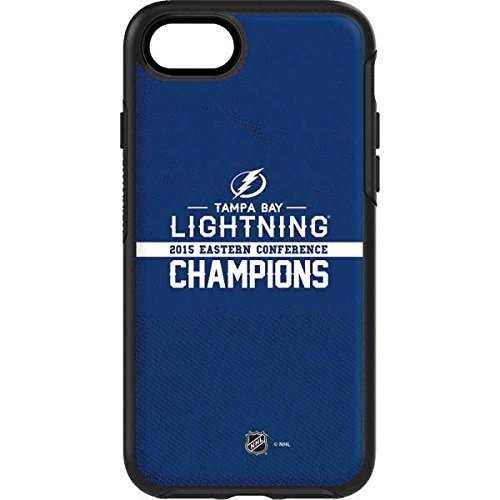 NHL Tampa Bay Lightning OtterBox Symmetry iPhone 7 Skin - Tampa Bay Lightning 2015 Eastern Conference Champions Vinyl Decal Skin For Your OtterBox Symmetry iPhone 7 by Skinit