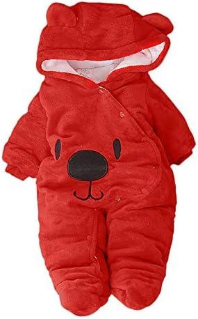 [해외]Newborn Baby Girls Boys Hooded Romper Cartoon Plush Fleece Warm Jumpsuit UniWinter Bodysuit / Newborn Baby Girls Boys Hooded Romper Cartoon Plush Fleece Warm Jumpsuit UniWinter Bodysuit