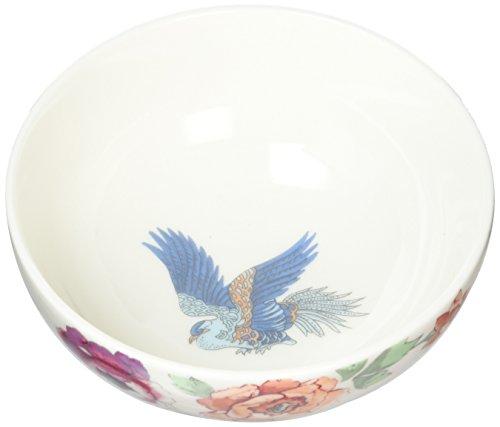 Denby Monsoon Kyoto Dessert Bowl, Bone China, Multicoloured, 13 x 13 x 5.5 cm ()