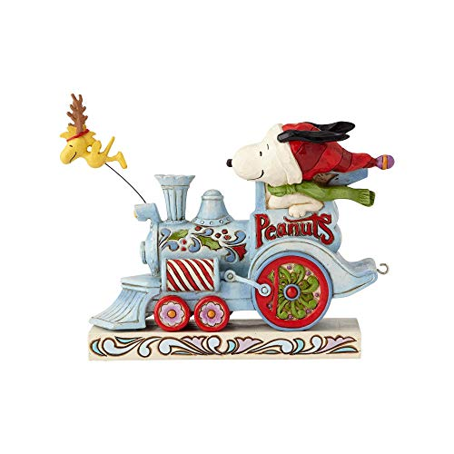 Enesco Peanuts by Jim Shore Snoopy Woodstock Christmas -