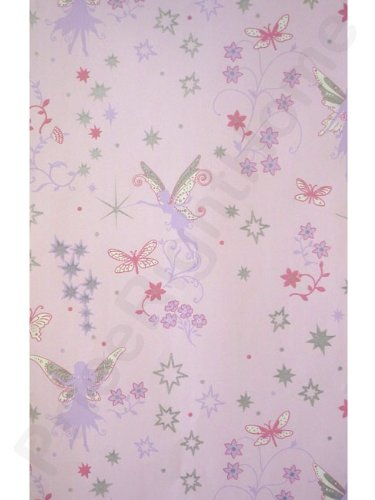 Arthouse Fairy Dust Pink Kids Lilac Blue Stars Wallpaper 667100