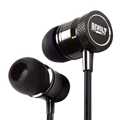 Revolt Stereo Headphone Earbuds Mic