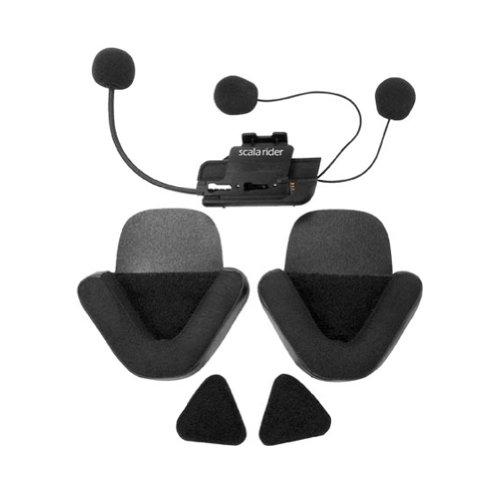Scala Rider Cell - scala rider Cardo Systems Inc Q1/Q3 Microphone & Speaker Communication Head Set Accessories - Black