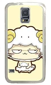 galaxy s5 case,custom samsung galaxy s5 case,TPU Material,Drop Protection,Shock Absorbent,Transparent case,cute cartoon patternCapricorn kitten