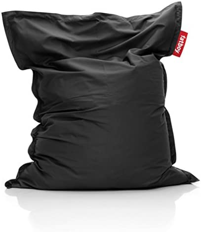 Fatboy JKTFLD-BLK The Original Outdoor Bean Bag Chair, Black