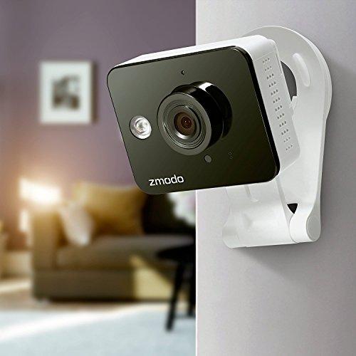 Zmodo True HD Mini WiFi Wireless Wide Angle Indoor Home ...
