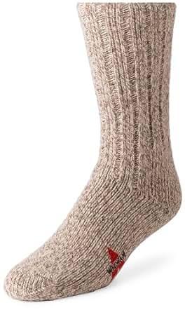 Wigwam Men's El Pine Crew Socks, Grey Twist, Medium 9-11 (Shoe Size 5-9.5)
