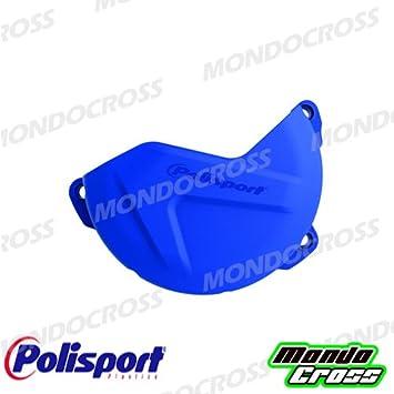 mondocross carcasa protección Carter embrague Polisport azul Yamaha WR 250 F 16 - 16 YZ 250 F 14 - 16: Amazon.es: Electrónica