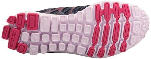 Realflex Lilac Women's Black Pink Ink US Mist Lucid White Train M Trainer Metallicerortie Silver 4 Metallicallic Cross Reebok Silver Blue B Craze 0 Shoe qF5wppBdn